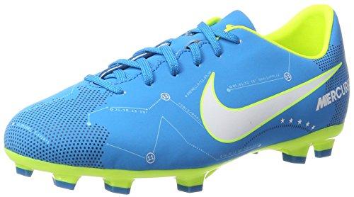 Nike Unisex-Kinder Jr Mercurial Victory VI SX FG Fußballschuhe, Blau (Blue Orbit/White-Blue Orbit-Armory Navy), 37.5 EU (Kinder Stiefel Nike)
