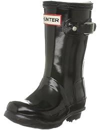 Hunter Original W23991 - Botas de agua de caucho para niños