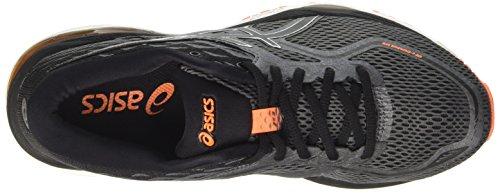 Asics Gel-Cumulus 19, Scarpe Running Uomo Nero (Carbon / Black / Hot Orange)