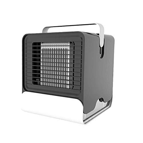Mini Klimageräte,Tragbarer Luftkühler,Mobile Klimaanlage 3 in 1 Mini Luftbefeuchter und Luftreiniger,Tischklimaanlage Ventilator Leakproof FüR Home Office Draussen