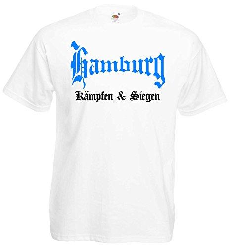world-of-shirt Herren T-Shirt Hamburg kämpfen und siegen