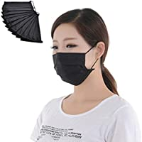 engdash - Máscaras de carbón Activado de Cuatro Capas, Filtro antivirus y antibacterias, 10 Unidades