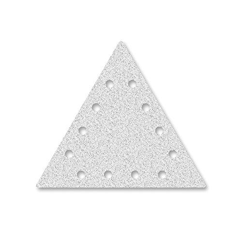 Preisvergleich Produktbild 25 MioTools Klett-Schleifscheiben für Trockenbauschleifer 290 x 250 mm - Korn 100 - 12-Loch
