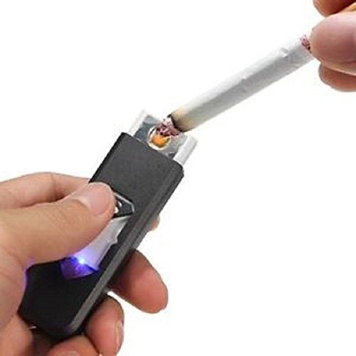 Electrónico USB Encendedor funciona sin gas y parece un encendedor de gas Cargue a través de USB