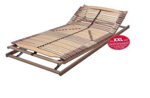 Lattenrost PANDA-SUPERFLEX XXL KF verstellbar in 140x200 cm bis 200 kg getestet - SOFORT LIEFERBAR