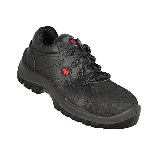 Aimont Kastor S3 Sapatos De Trabalho Src De Trekking Sapatos Preto Liso