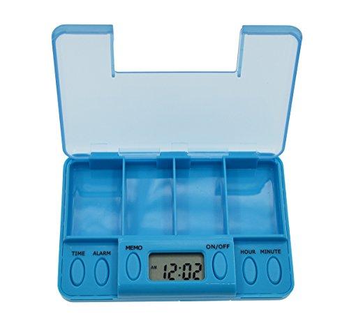 iParaAiluRy Multi-Alarm Minuteur Pills Rappel Medicine Box Tablet