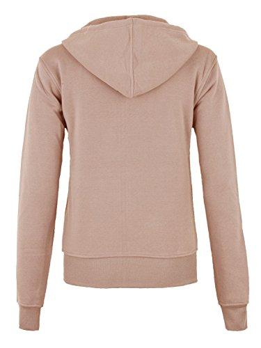 Danaest - Sweat-shirt - Manches Longues - Femme Marron - Marron
