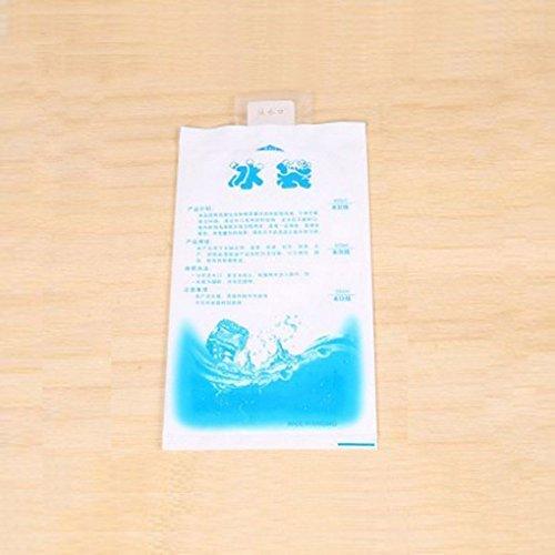 Floridivy 10pcs Wasser-Einspritzung EIS-Gel-Pack Wiederverwendbare Langlebige Gelpack - Wiederverwendbare Kalt-eis