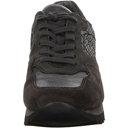 Gabor 3330119, Chaussures femme, gris (Croco/Gris foncé) Gris