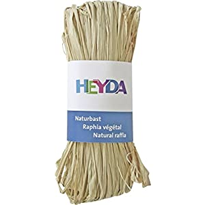 Heyda 204887799 Naturbast (30m, natur)