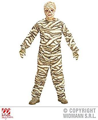 Widmann - Kinderkostüm Mumie (Halloween Ideen Kostüm Mumie)