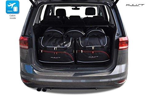 Kjust Carbags KJUST - CAR-BAGS AUTOTASCHEN MASSTASCHEN ROLLENTASCHEN VW TOURAN II, 2010-