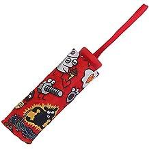 Super Mini paraguas–Kukuxumusu–no te preocupes–rojo