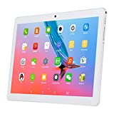 10.1 Inch 4G Tablet Android 7.0 Octa Core LTE, Qimaoo Unlocked Phone Call