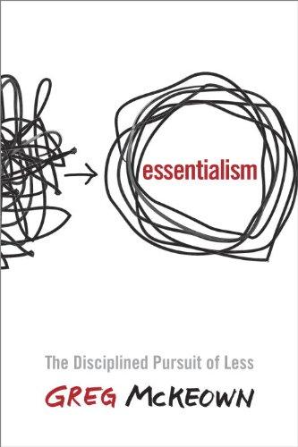 Buchseite und Rezensionen zu 'Essentialism: The Disciplined Pursuit of Less(Paperback)' von Greg McKeown