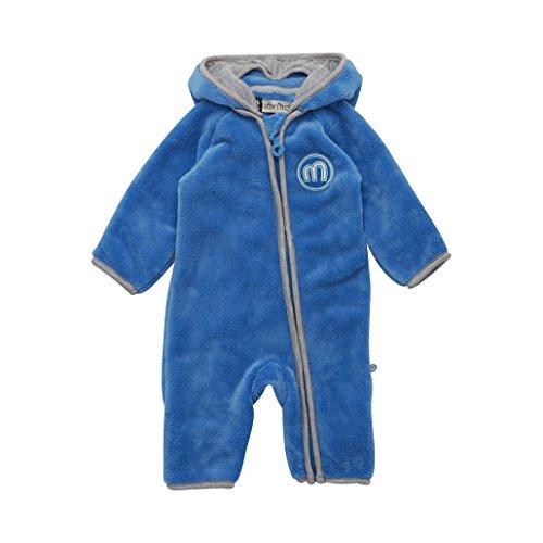 Minymo Baby Boy Elif Fleeceanzug blau 68
