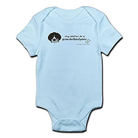 CafePress - German Shorthaired Pointer Gifts - Cute Infant Bodysuit Baby Romper
