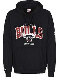 Mitchell   Ness Arch Logo Chicago Bulls Sweat à Capuche 4a61cb06447a
