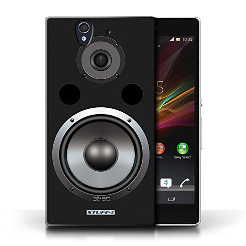 Kobalt® Imprimé Etui / Coque pour Sony Xperia Z / Autoradio conception / Série Haut-Parleur dessin Hifi