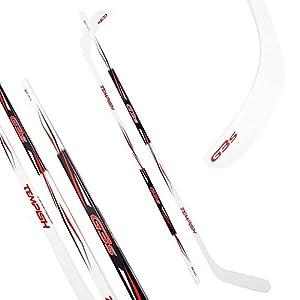 Unbekannt Hockey- und Eishockeyschläger Tempish G3S rot 115-152 cm ABS Schaufel