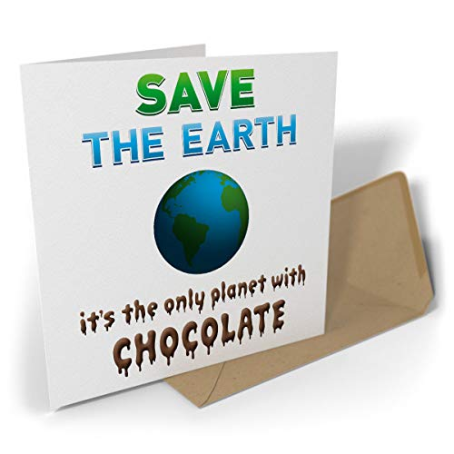Greetings Card: Save The Earth I...