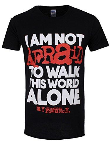 My Chemical Romance -  T-shirt - Stampa  - Uomo Nero  nero