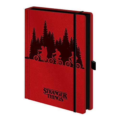 Taccuino originale Stranger Things Upside Down A5 Premium con copertina rigida