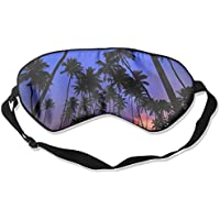 Eye Mask Eyeshade Palm Tree Sleeping Mask Blindfold Eyepatch Adjustable Head Strap preisvergleich bei billige-tabletten.eu