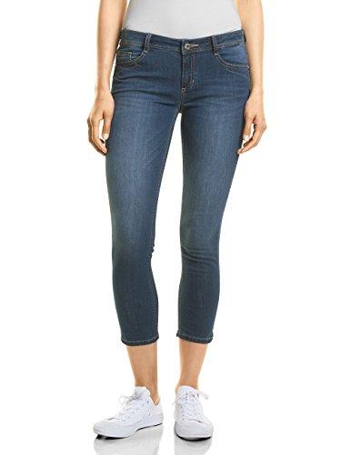 Street One Damen Slim Jeans 371418 York, Blau (Clean Blue Wash 11396), W29/L26 (Herstellergröße: 29)