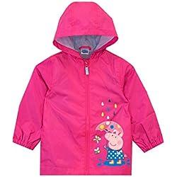 Peppa Pig - Manteaux de Pluie Fille - Rose - 2-3 Ans