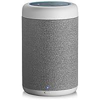 GGMM D6 Lautsprecher & Ladestation für Amazon Dot (2. Generation) 360°-Sound, 20W, 5200 mAh, weiß