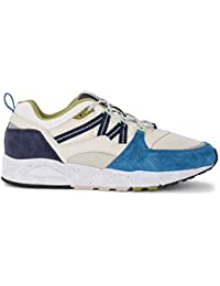 77f8a5d7946 Karhu Sneaker Fusion 2.0 in Pelle E Nylon Bianchi E Suede Blu