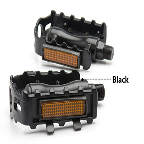 ARDUTE Bearings Bicycle Pedal Anti-Slip Ultralight MTB Mountain Bike Pedal Sealed Bearing Pedals Bicycle Accessories(Black)