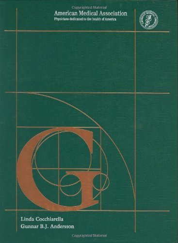 Guides to the Evaluation of Permanent Impairment, Fifth Edition by Gunnar B. J. Andersson (2000-12-15)