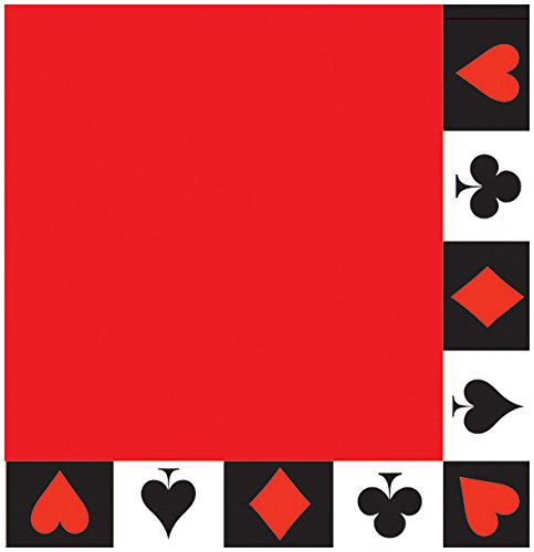 16 Casino Papier-Servietten