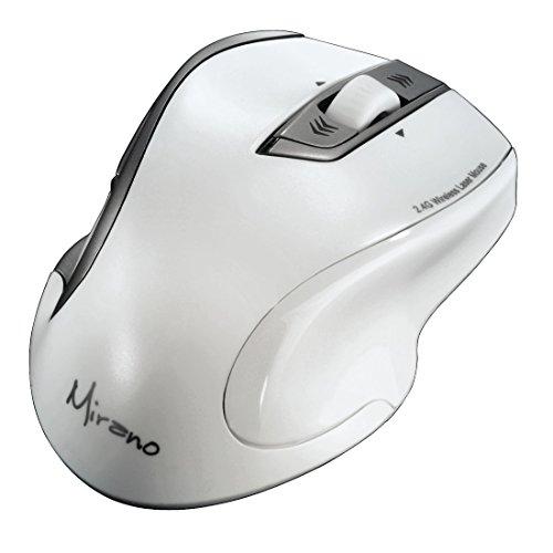 Tilt-taste (Hama Mirano Wireless Laser Maus (800/1600dpi, ohne Klickgeräusche) weiß)