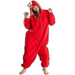 wowcos® Unisex Adulto Pijama Pikachu Onesie traje de Cosplay Animal Kigurumi Halloween Navidad regalo