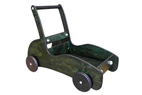 Lauflernwagen mit Bremse Racer grün
