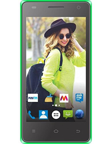 Rage Supremo 4.5 Android Kitkat(4.4.2),Quad core1.2 Ghz and1GB RAM(Green)