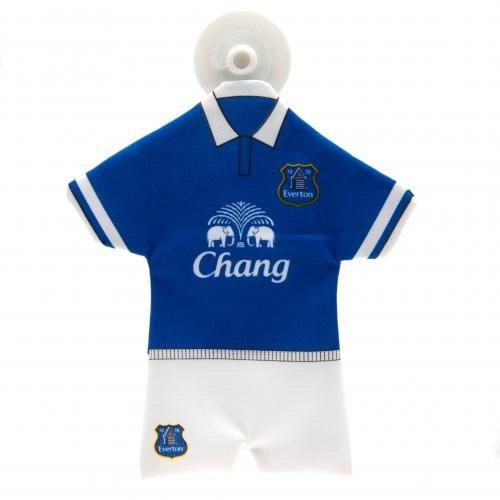 Geschenk-Ideen, Everton FC, offizielles Lizenzprodukt, Mini-Set für Auto-ideal als Geschenk für Fußball-Fans -