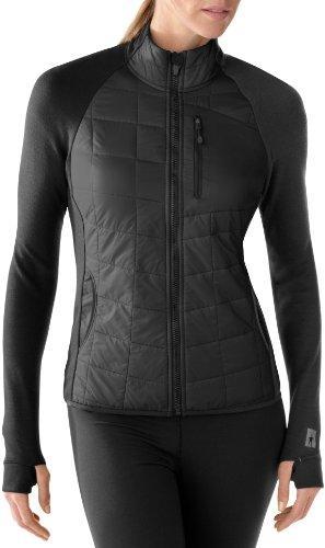 Smartwool phd smartloft divide veste pour femme avec fermeture éclair intégrale Noir - noir