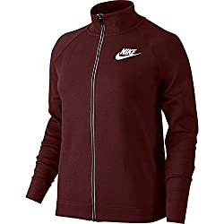 Nike Track Top – Sportswear Advance 15 Maroonwhite Size: S (Small)