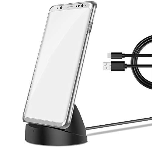 Jill Ernest Phone Holder Type-C del Caricatore Connettore della Porta for Samsung Galaxy Note 9 / Galaxy S9 / Galaxy S9 Inoltre Huawei Mate 20 PRO Xiaomi Mi8 Caricabatterie Intelligent