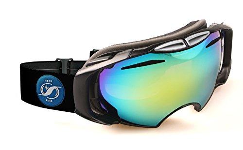 HYSTERESIS - Gafas De Esquí De Lentes Intercambiambles Original Sierra Nevada - Lente Dorada