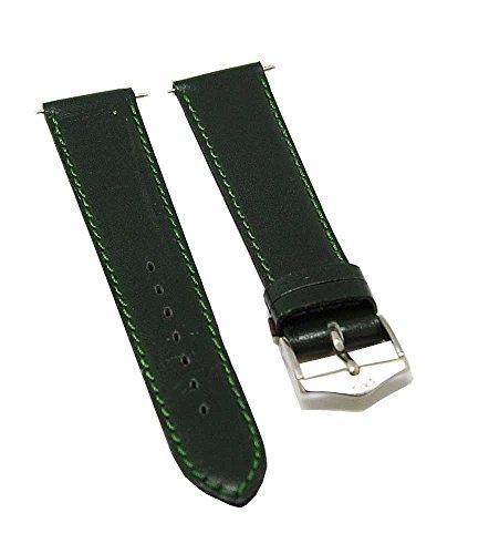 reloj-de-pulsera-fortis-piel-verde-con-costura-verde-18-mm-nuevo-8509