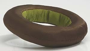 Van Riel - Anneau en nylon vert et brun pour chiens - 24 x 5 cm.