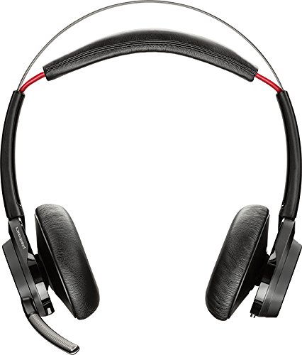 """Image of Plantronics Bluetooth Headset """"Voyager Focus UC B825"""" inklusive Aufbewahrungstasche, schwarz"""
