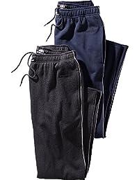 Nordcap Herren Jogginghosen-Set in Mehreren Farben, kuschelige Sporthose im Doppelpack, Bequeme Freizeit-Hosen (Größe: S - XXXXL)