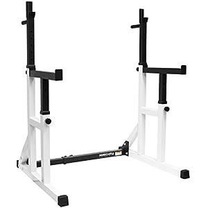 Hardcastle Bodybuilding - Kniebeugenständer mit Sicherheitsablage und...